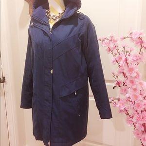 Jackets & Blazers - Comfy dark blue coat
